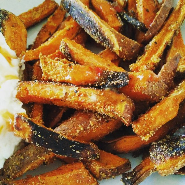 Veggie LAD Sweet Potato Fries