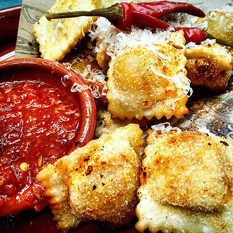 Jamie's Italian Nachos