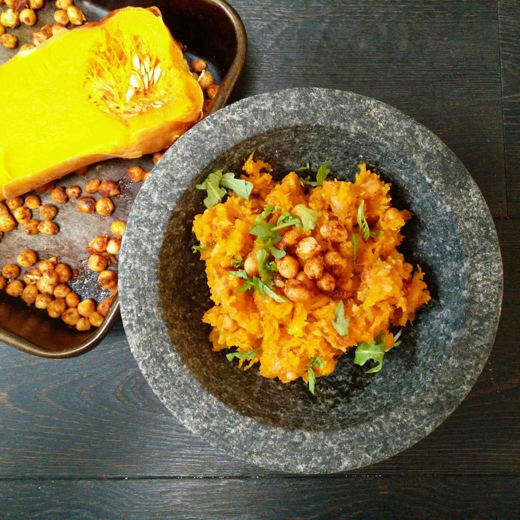 Moroccan Butternut Squash Hummus - Veggie LAD