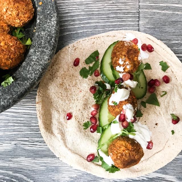 Veggie LAD falafel recipe