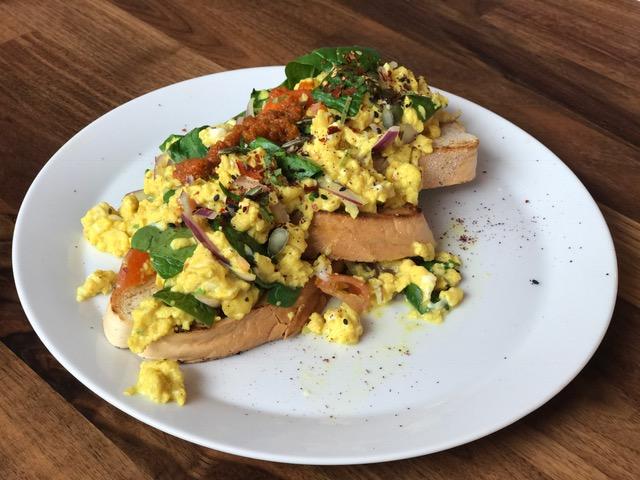 Scrambled Eggs 90 Degree Melt Veggie LAD