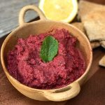 Beetroot and Walnut Hummus Veggie LAD