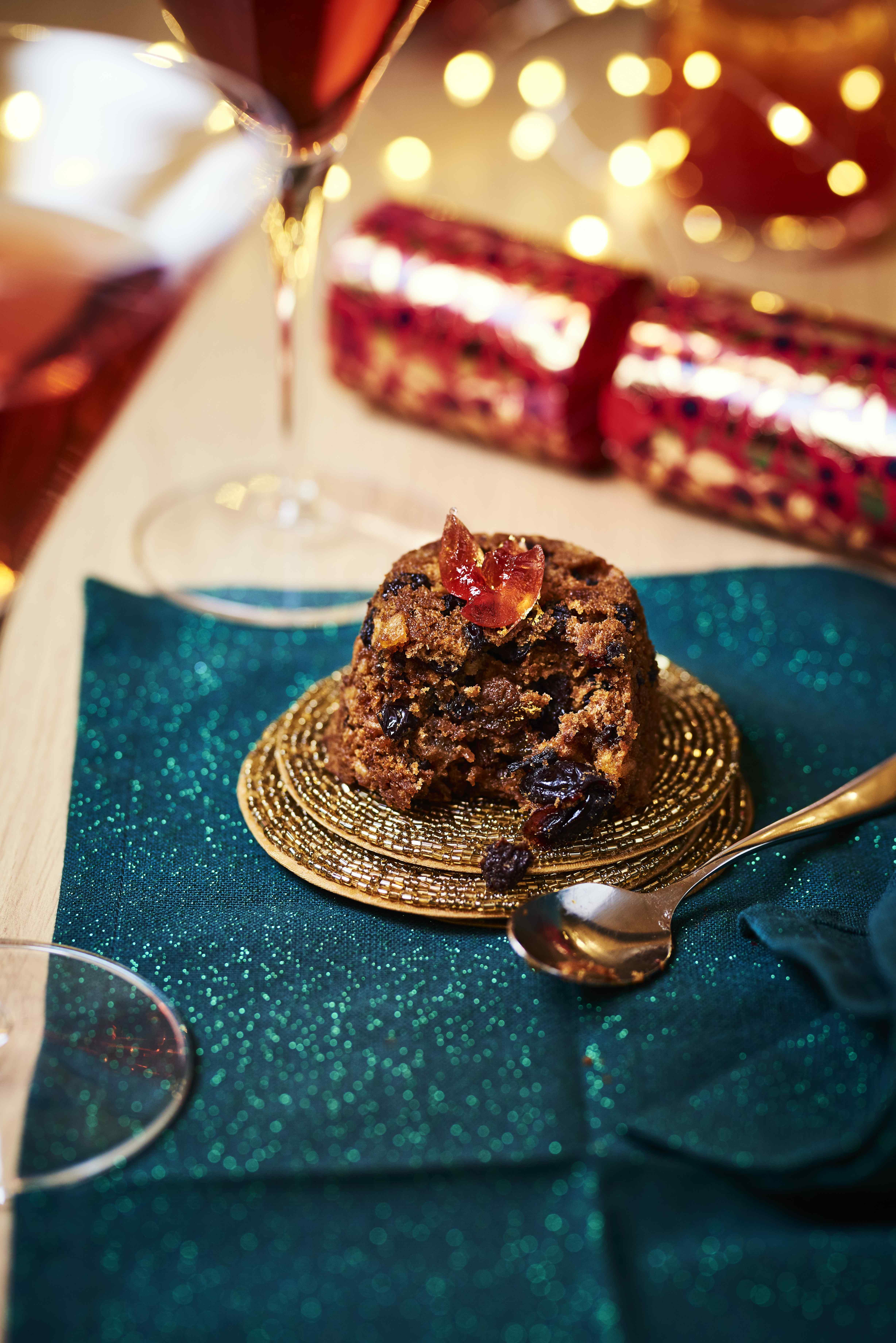 Traditional Christmas pudding john lewis veggie lad