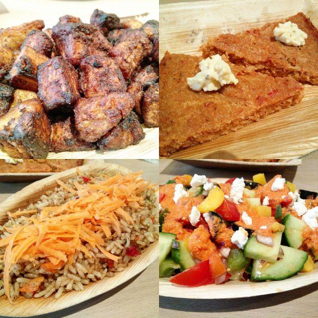 Chukus Nigerian Tapas Lounge - Veggie LAD