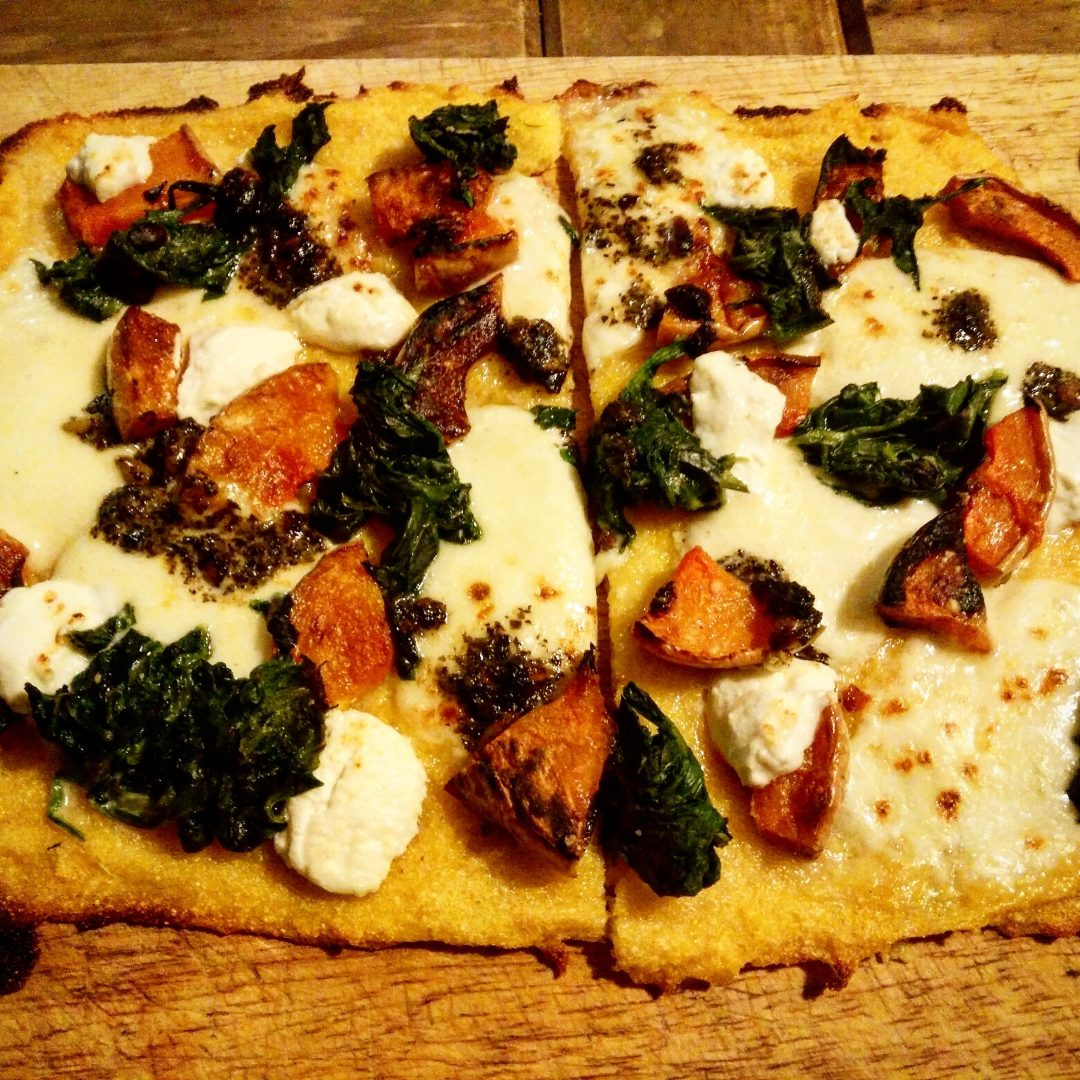 Polenta Pizza - Veggie LAD